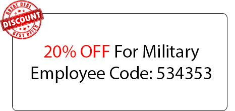 Military Employee 20% OFF - Locksmith at Northbrook, IL - Northbrook Illinois Locksmith