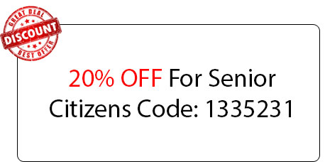 Senior Citizens 20% OFF - Locksmith at Northbrook, IL - Northbrook Illinois Locksmith